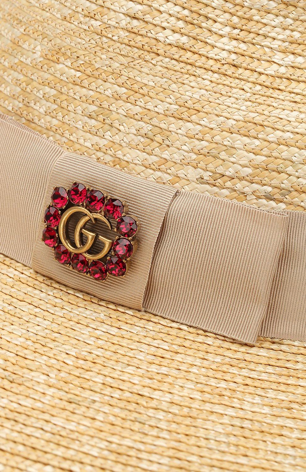 Соломенная шляпа с лентой | Фото №3