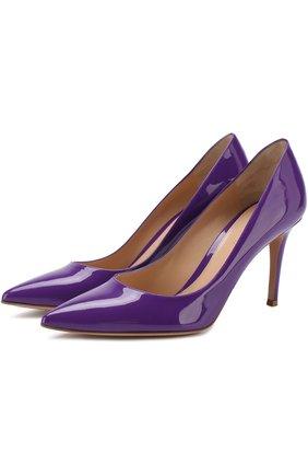 Лаковые туфли Gianvito 85 на шпильке | Фото №1