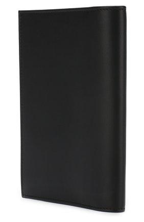 Мужская кожаная обложка для паспорта BRIONI черного цвета, арт. 0HQS0L/07709 | Фото 2