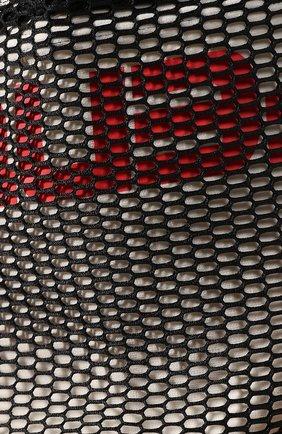 Накидка с капюшоном с перфорированной отделкой Fenty Puma by Rihanna черная   Фото №5