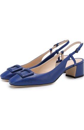 Кожаные туфли с плетением intrecciato | Фото №1