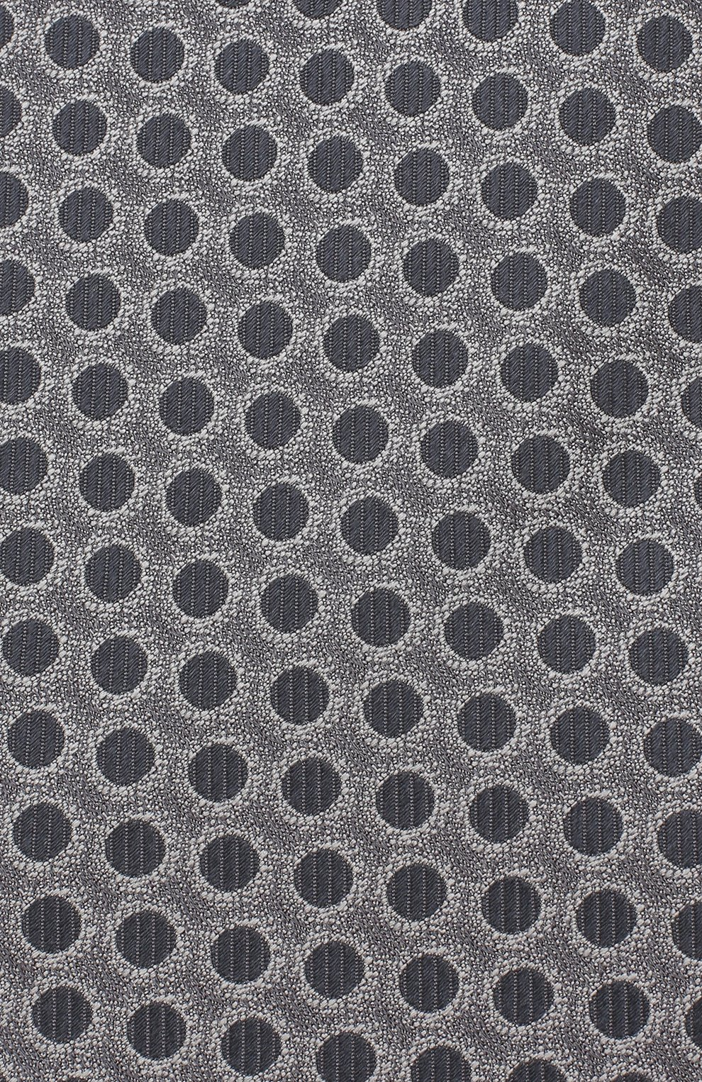 Мужской шелковый галстук TOM FORD серого цвета, арт. 3TF49/XTF | Фото 3
