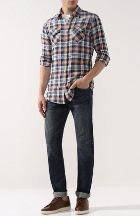 Мужские джинсы RRL синего цвета, арт. 782658897 | Фото 2