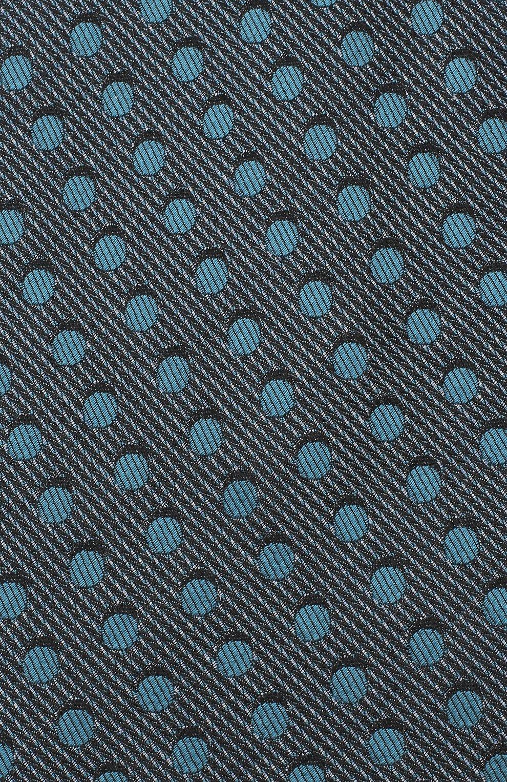 Мужской шелковый галстук TOM FORD бирюзового цвета, арт. 3TF48/XTF | Фото 3