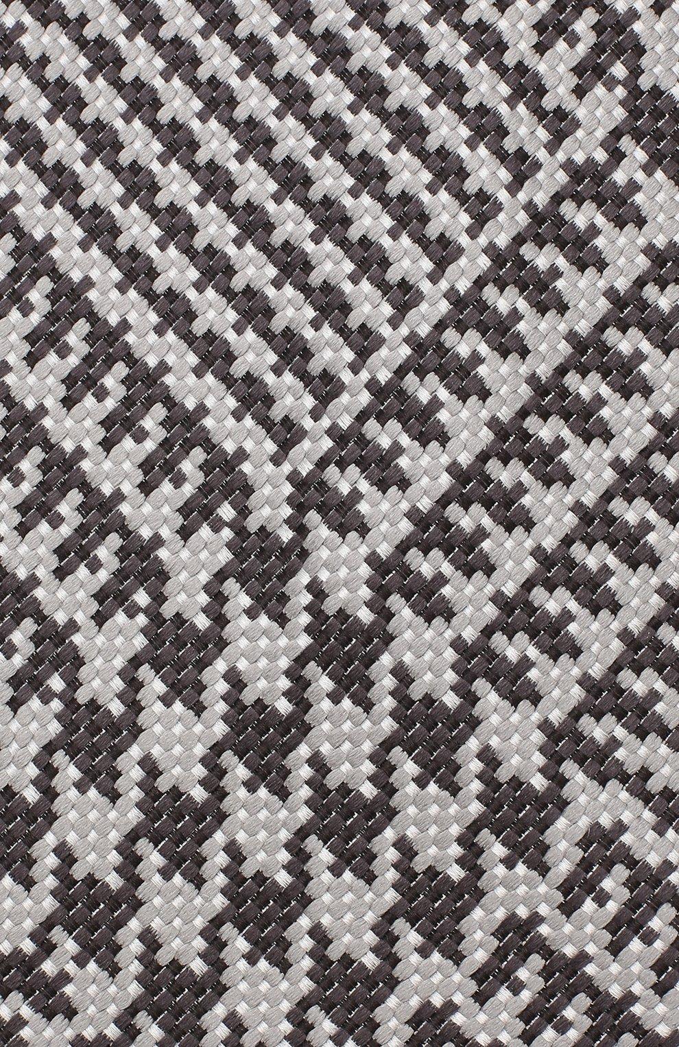 Мужской шелковый галстук TOM FORD серого цвета, арт. 3TF72/XTF   Фото 3