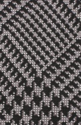 Мужской шелковый галстук TOM FORD темно-серого цвета, арт. 3TF72/XTF | Фото 3