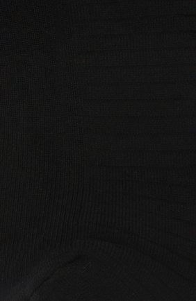 Однотонные носки с логотипом бренда Versus Versace черные   Фото №1