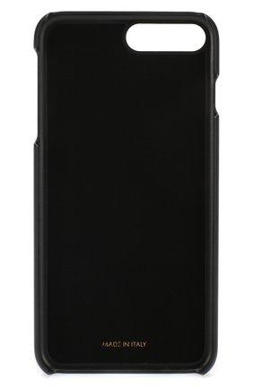 Мужской кожаный чехол для iphone 7 plus/8 plus DOLCE & GABBANA черного цвета, арт. BP2236/AI475 | Фото 2