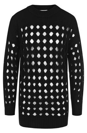 Вязаный пуловер из смеси шерсти и кашемира | Фото №1
