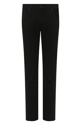 Мужские джинсы прямого кроя 7 FOR ALL MANKIND черного цвета, арт. JSMSR730PB | Фото 1