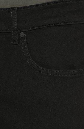 Мужские джинсы прямого кроя 7 FOR ALL MANKIND черного цвета, арт. JSMSR730PB | Фото 5