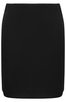 Домашняя мини-юбка Mey черная | Фото №1