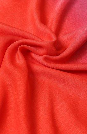 Платок из смеси вискозы и кашемира с градиентным рисунком Escada Sport фуксия | Фото №1