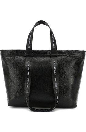Кожаная сумка Carry Shopper L | Фото №1