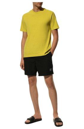 Мужские резиновые шлепанцы rockstud VALENTINO черного цвета, арт. QY2S0873/JGC   Фото 2 (Статус проверки: Проверено; Материал внутренний: Текстиль; Материал внешний: Резина)