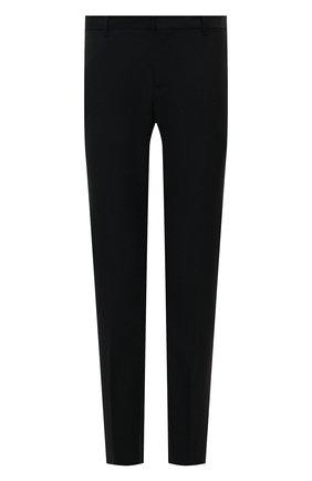 Мужские шерстяные брюки VALENTINO темно-синего цвета, арт. QV3RB54025S   Фото 1
