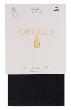 Женские капроновые колготки OROBLU синего цвета, арт. V0BC01351 | Фото 1