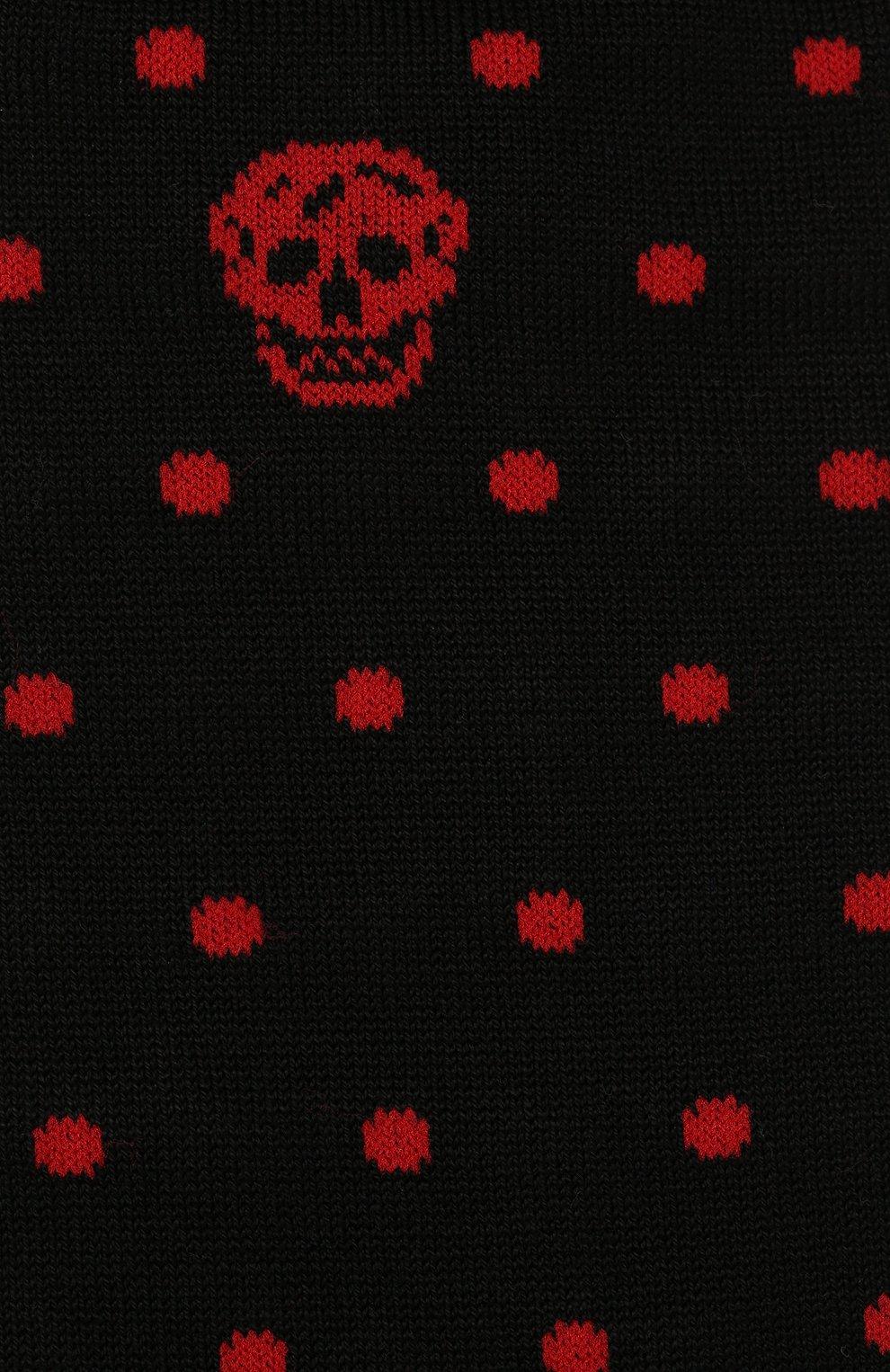 Хлопковые носки с узором Polka Dot | Фото №2