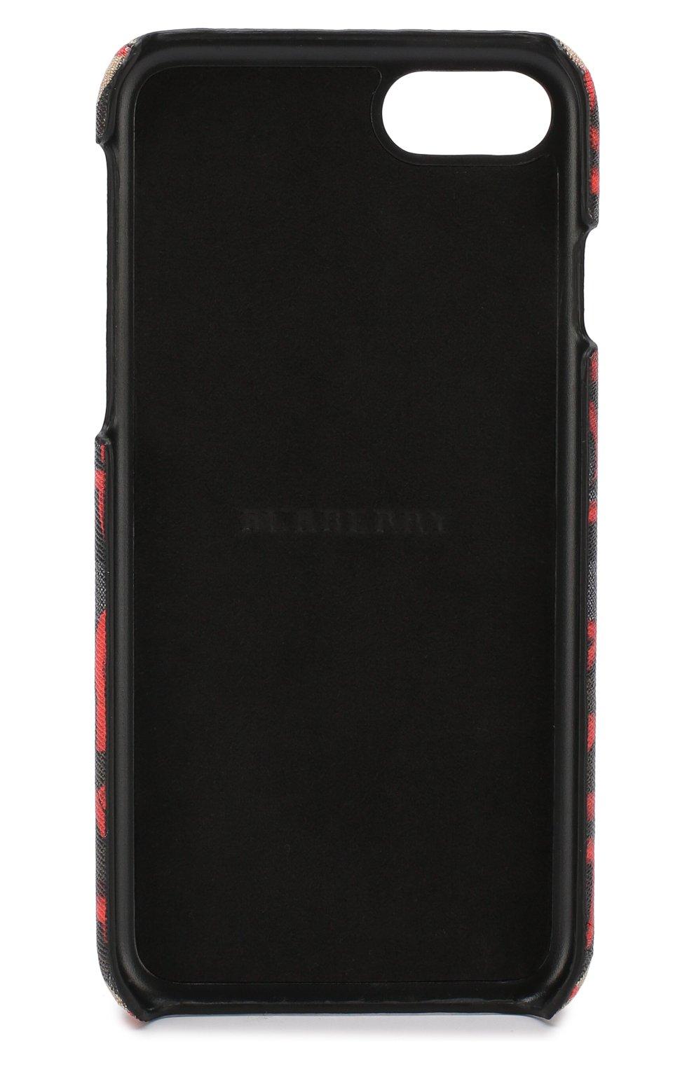 Чехол для iPhone 7/8 с принтом Burberry    Фото №2