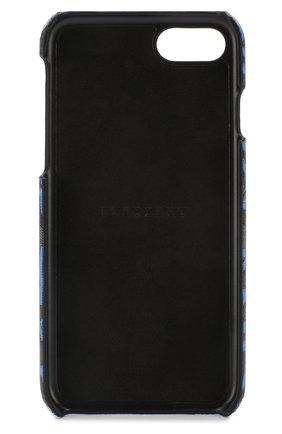 Кожаный чехол для iPhone 7/8 Burberry  | Фото №2