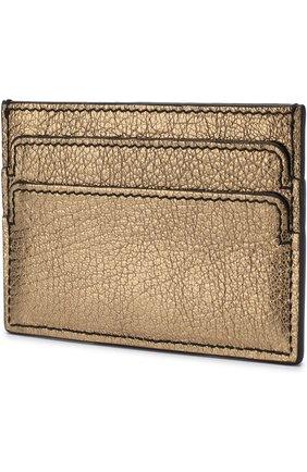Кожаный футляр для кредитных карт с черепом | Фото №2