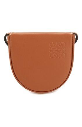 Женская сумка heel pouch loewe x paula's ibiza LOEWE светло-коричневого цвета, арт. 109.54.T15 | Фото 1