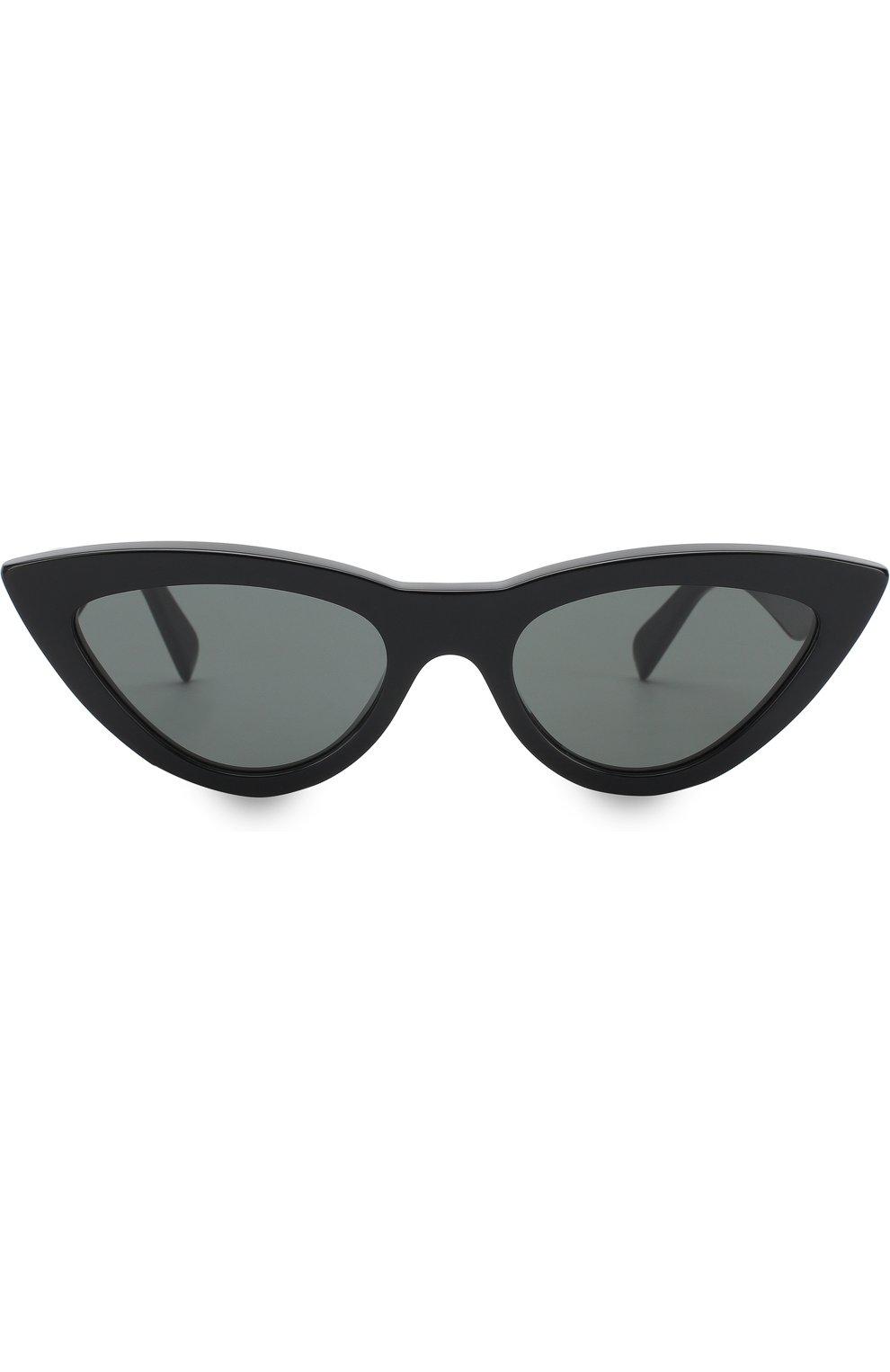 Женские солнцезащитные очки CELINE EYEWEAR черного цвета, арт. CL40019I 01N   Фото 3