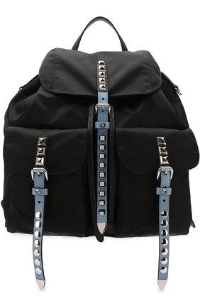 Рюкзак Black Nylon | Фото №1
