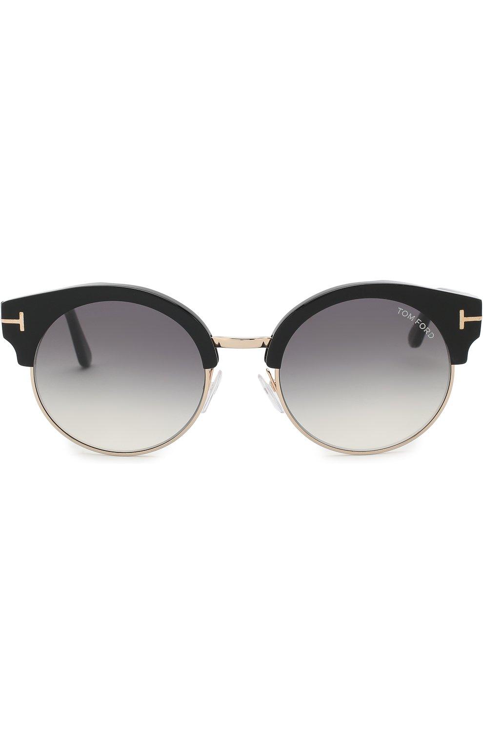 Женские солнцезащитные очки TOM FORD черного цвета, арт. TF608 | Фото 2