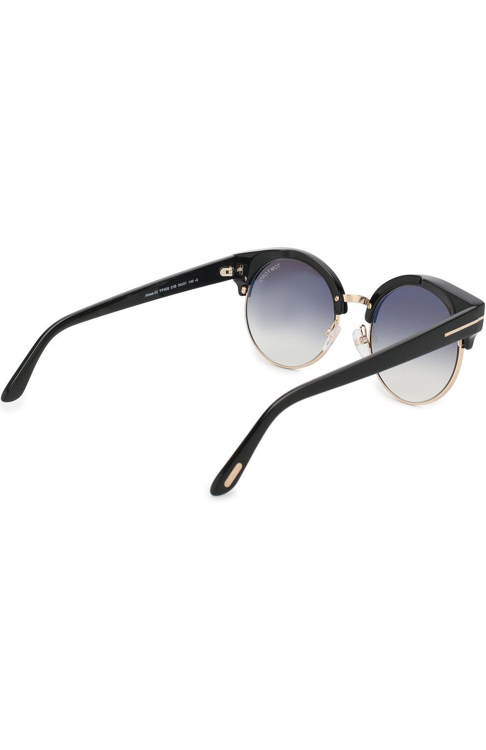 Женские солнцезащитные очки TOM FORD черного цвета, арт. TF608 | Фото 3