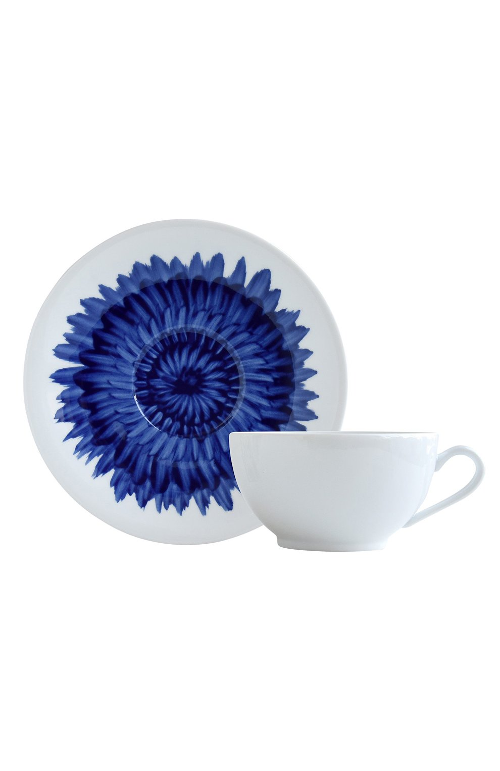 Чашка для завтрака с блюдцем In Bloom Bernardaud  | Фото №1