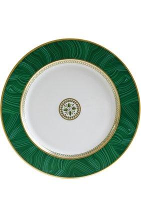 Тарелка сервировочная Constance Malachite | Фото №1