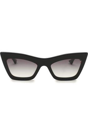 Женские солнцезащитные очки DITA черного цвета, арт. ERASUR/01   Фото 3