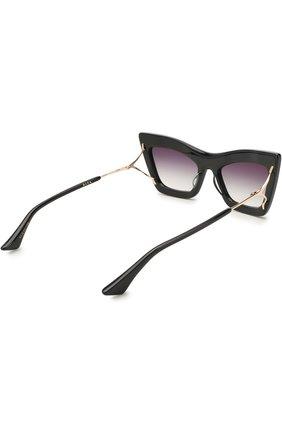 Женские солнцезащитные очки DITA черного цвета, арт. ERASUR/01   Фото 4