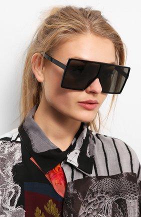 Женские солнцезащитные очки SAINT LAURENT черного цвета, арт. SL 183 BETTY 004 | Фото 2