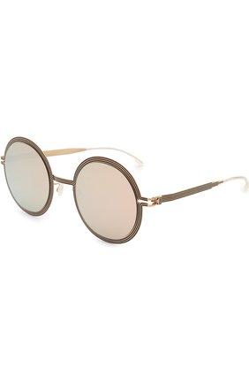 Солнцезащитные очки Mykita золотые | Фото №1