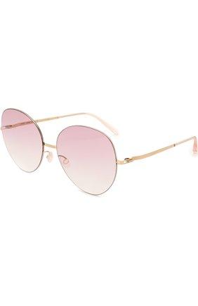 Солнцезащитные очки Mykita розовые | Фото №1