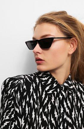 Солнцезащитные очки Prada черные   Фото №2