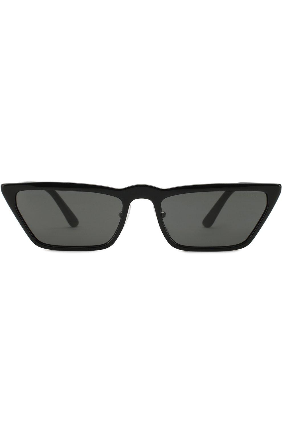 Солнцезащитные очки Prada черные   Фото №3