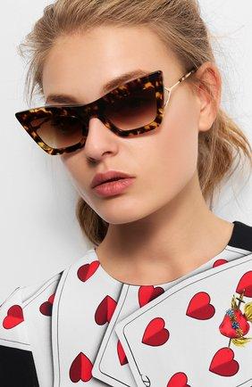 Мужские солнцезащитные очки DITA коричневого цвета, арт. ERASUR/02 | Фото 2