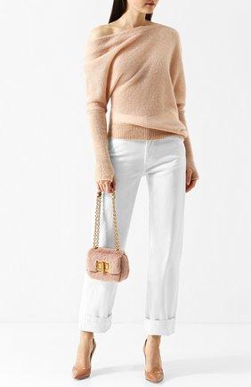 Женская сумка natalia mini TOM FORD светло-розового цвета, арт. L1117T-X58   Фото 2