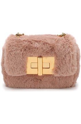 Сумка Natalia mini Tom Ford светло-розовая   Фото №1