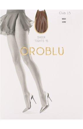 Женские капроновые колготки OROBLU бежевого цвета, арт. V0BC01010/XXL | Фото 1