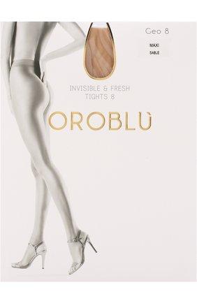 Женские капроновые колготки OROBLU светло-бежевого цвета, арт. V0BC01136/XXL | Фото 1