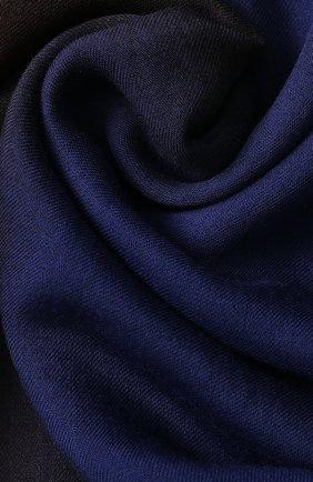 Платок из шерсти с градиентным рисунком | Фото №2
