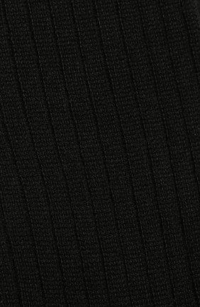 Мужские кашемировые носки BRIONI черного цвета, арт. 0VMC00/07Z03   Фото 2