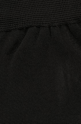 Мужские шелковые носки BRIONI черного цвета, арт. 0VMC00/07Z08 | Фото 2 (Материал внешний: Шелк; Кросс-КТ: бельё)