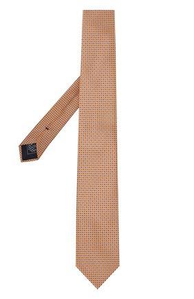 Мужской комплект из галстука и платка BRIONI желтого цвета, арт. 08A400/07468 | Фото 2