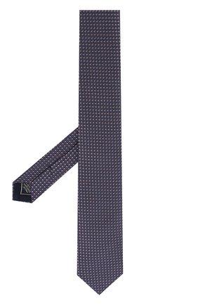 Мужской шелковый галстук с узором BRIONI сиреневого цвета, арт. 061E00/0740G | Фото 2