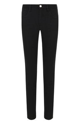 Однотонные джинсы с карманами | Фото №1